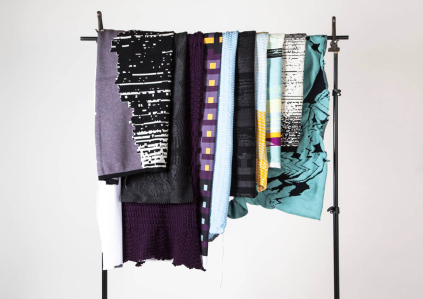 textile collection, digital textile, weave, print, knit, digital weave, digital print, digital knit. abstract_ collection, design concept, color and materials, design, textiles, textile, student, bachelor